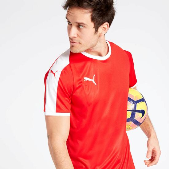 Camiseta Fútbol Puma Roja