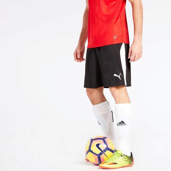 soltar práctico Faceta  Puma Liga - Negro - Pantalón Fútbol Corto Hombre | Sprinter