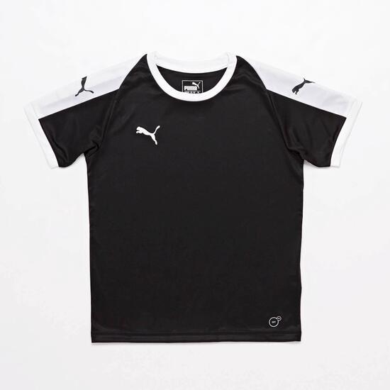 Camiseta Puma Liga Negra Junior