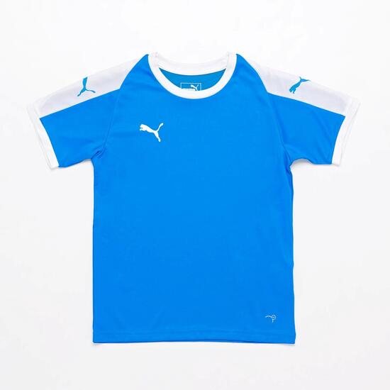 Camiseta Puma Liga Azul Junior