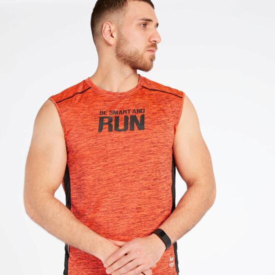 Camiseta Running Naranja Ipso Combi 2