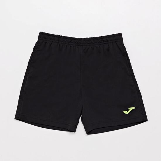 Pantalón Corto Joma Junior - Negro - Pantalón niño  dfcb3e371995f