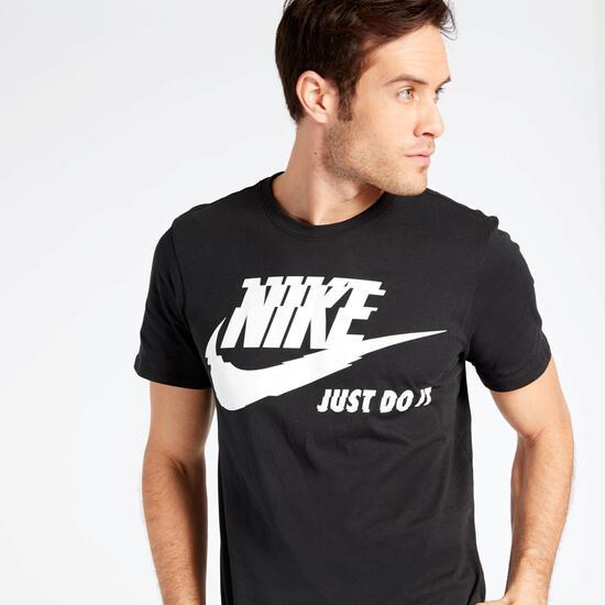 Camiseta Nike Futura Negra