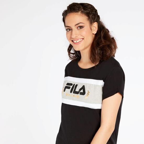 Camiseta Fila Lilac Negra