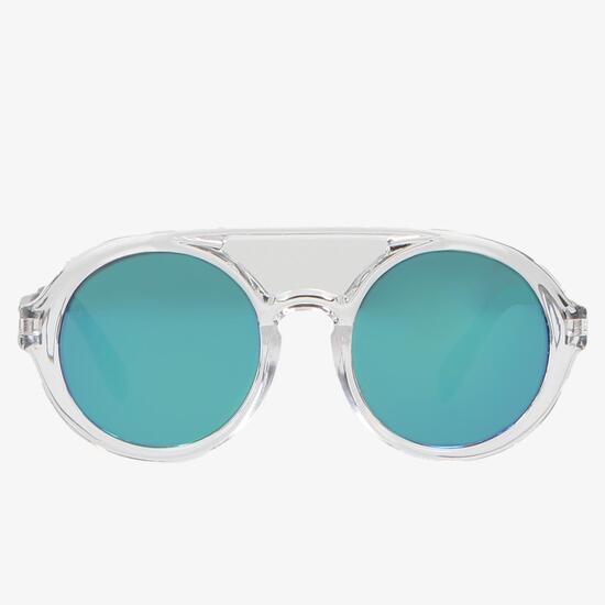 Gafa Sol Transparente Junior Silver Modern