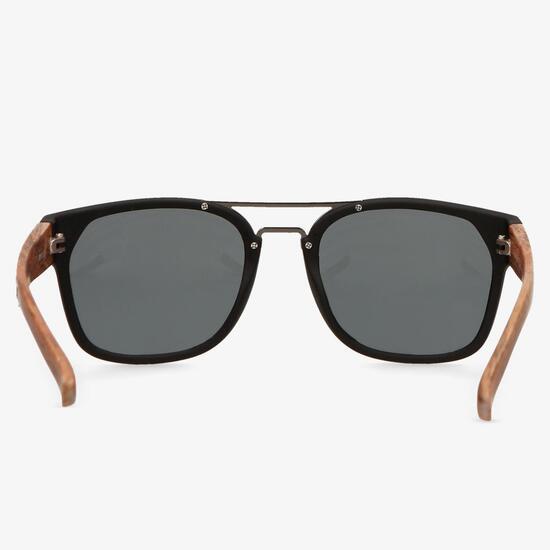 Gafas Sol Negra Marrón Silver