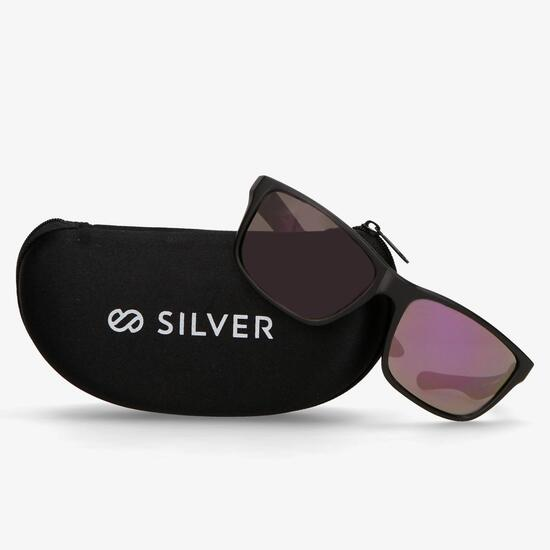 Gafa Sol Negra Silver