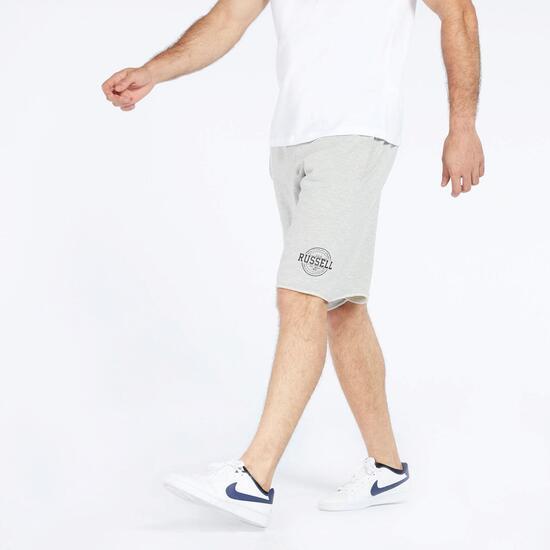 Bermuda Russell Athletic - Gris claro - Pantalón corto hombre  d8de277a02b7f