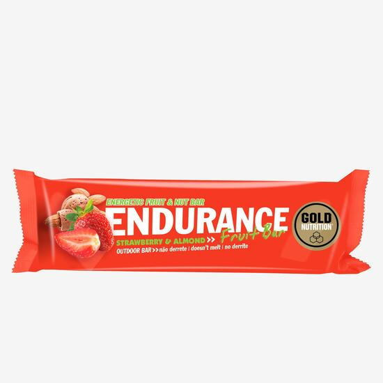 Barrita Energizante Fresa Gold Nutrition 40gr