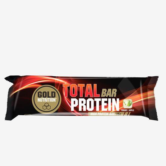 Barrita Proteinas Yogur Manzana Gold Nutrition 46gr