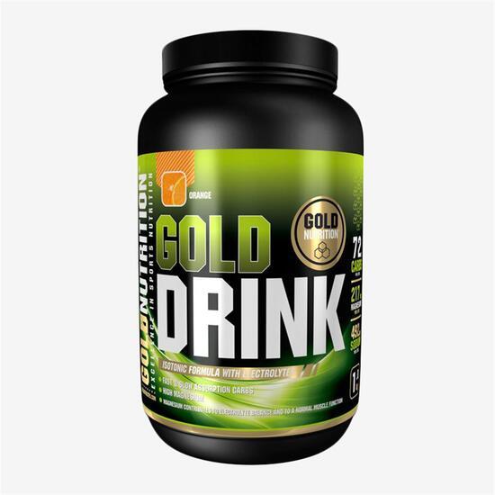 Bebida Isotónica Gold Nutrition Naranja 1Kg