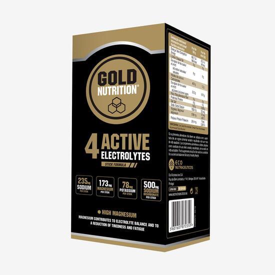 Electrolitos Limón Gold Nutrition 60cap