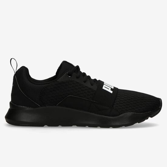 puma zapatillas hombre negras