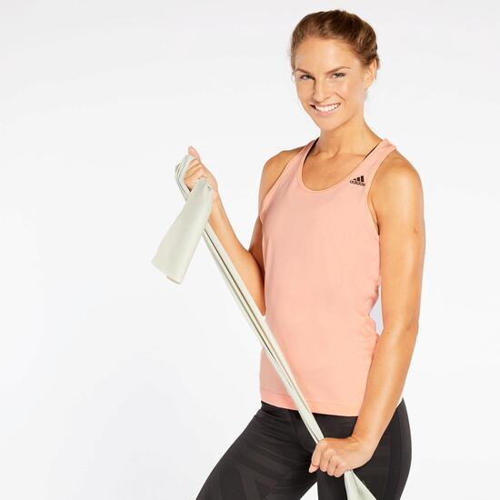 ce3ba463 Camiseta adidas D2M Tank Solid - Rosa - Camiseta Fitness Mujer ...