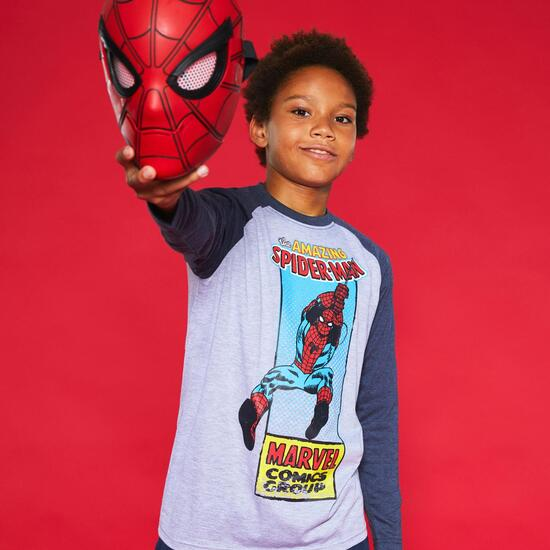 Camiseta Manga Larga Spiderman Junior