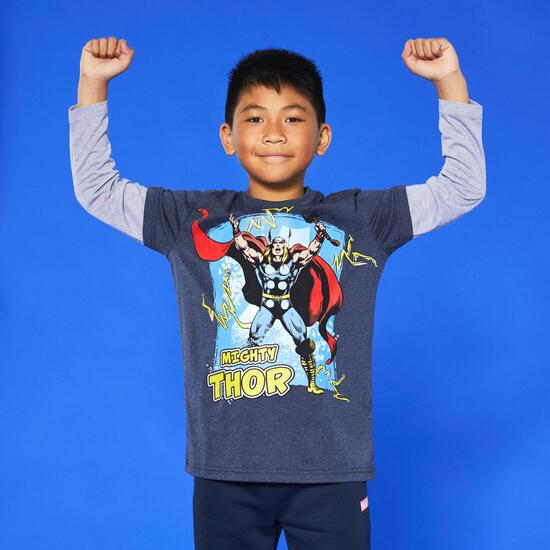 Camiseta Manga Larga Thor Junior
