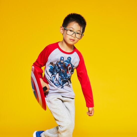 Camiseta Manga Larga Avengers Niño