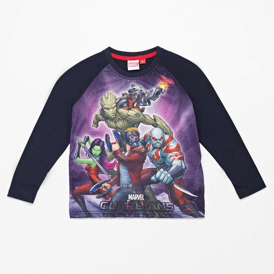 Camiseta Manga Larga Guardianes Galaxia Niño