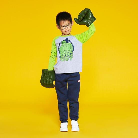 Camiseta Manga Larga Hulk Niño