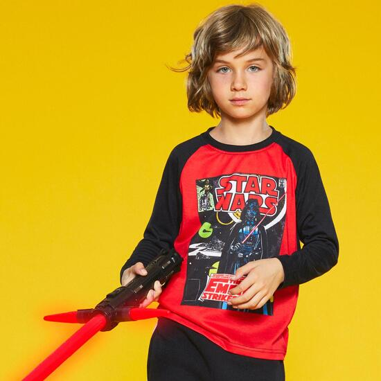 Camiseta Manga Larga Star Wars Niño