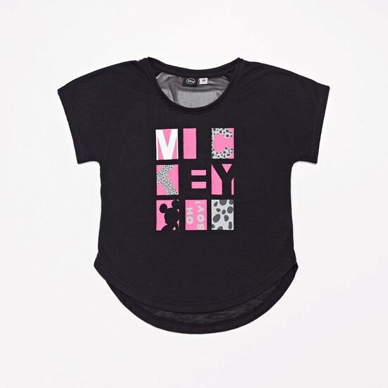 Camiseta Fitness Mickey Junior