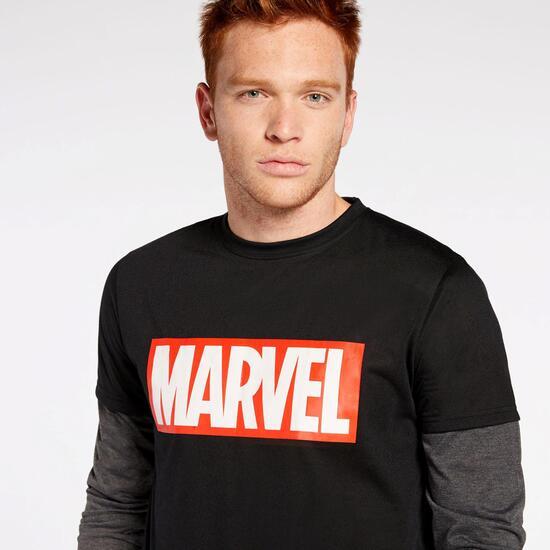 Camiseta Manga Larga Marvel