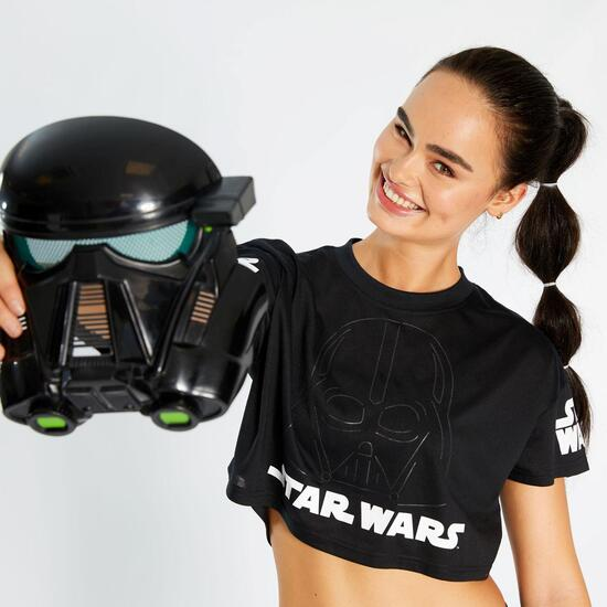 Camiseta Crop Star Wars