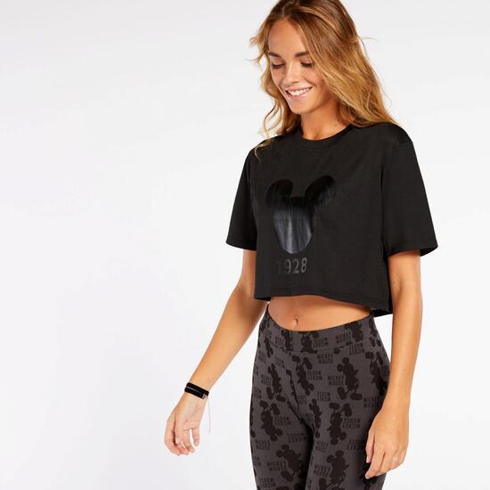 Camiseta Crop Mickey