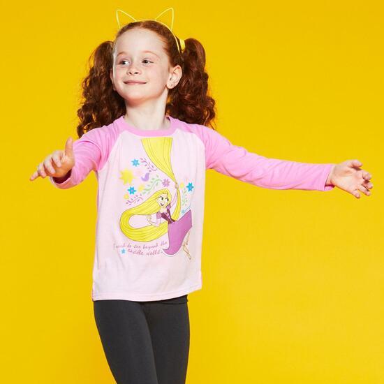 Camiseta Manga Larga Rapunzel
