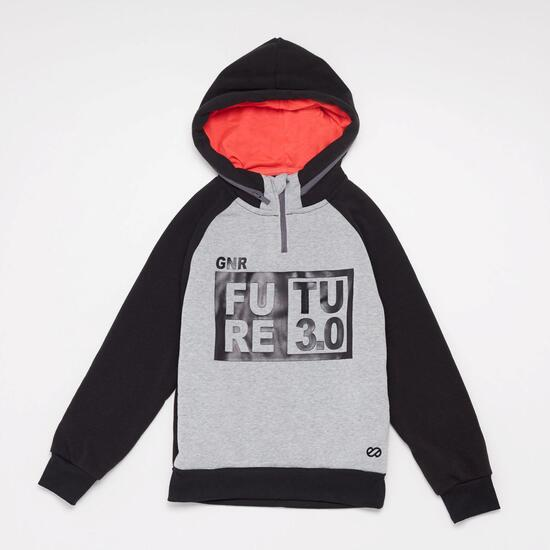 Sudadera Capucha Silver Future Junior
