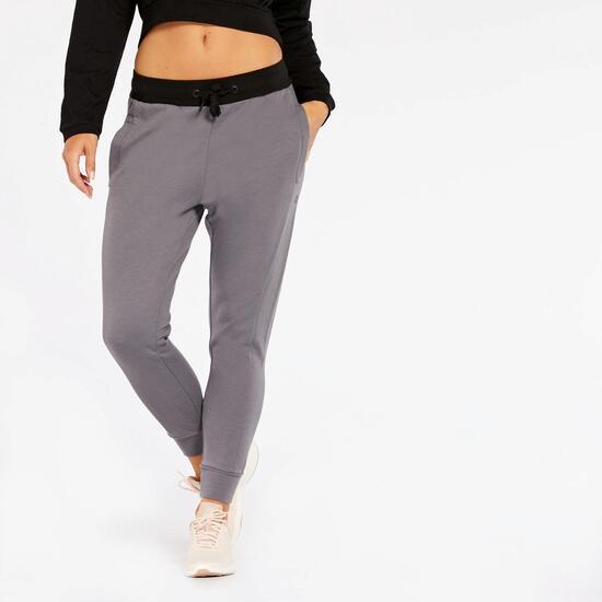 Pantalon Chándal Silver New Evolution - Gris-Negro - Pantalon Mujer ... 65742a9862dc