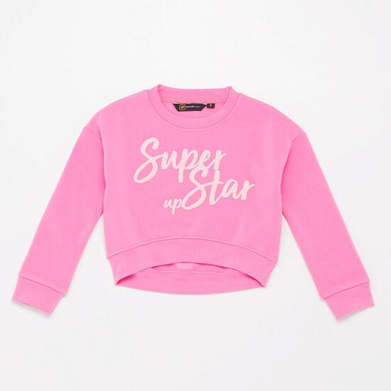 Sudadera Crop Up Basic Niña