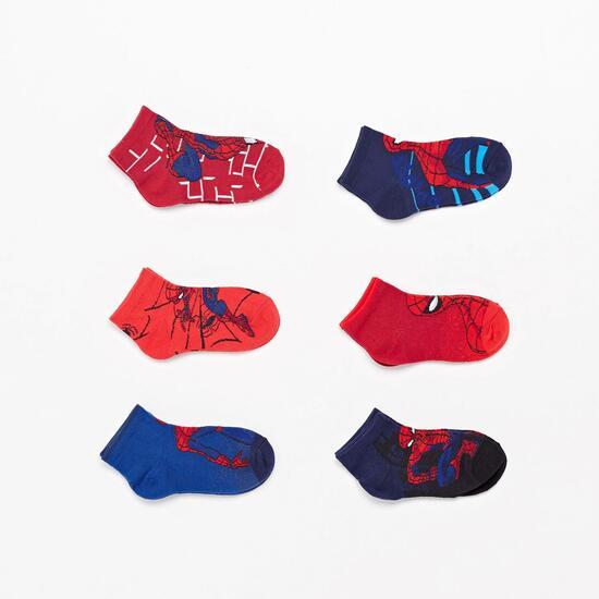 Calcetines Invisibles Spiderman Junior
