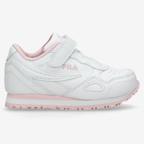 42962811afa Fila Eurojogger - 156 Blanco-Rosa - Zapatillas Niña