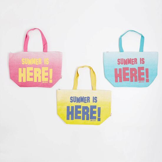 Bolso Playa Silver Summer Is Here