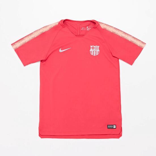 32104cfaa1 Camiseta Entrenamiento Barcelona C.F. - Naranja - Camiseta Niño ...