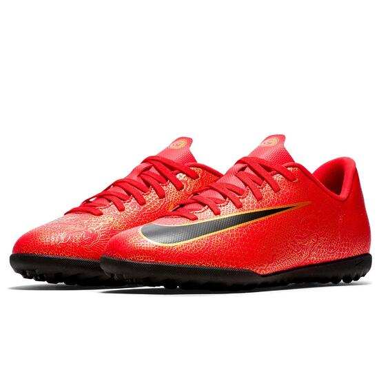 Nike Mercurial Cr7 Turf Niño Rojo Botas Multitaco Sprinter e9c1d59acea4e