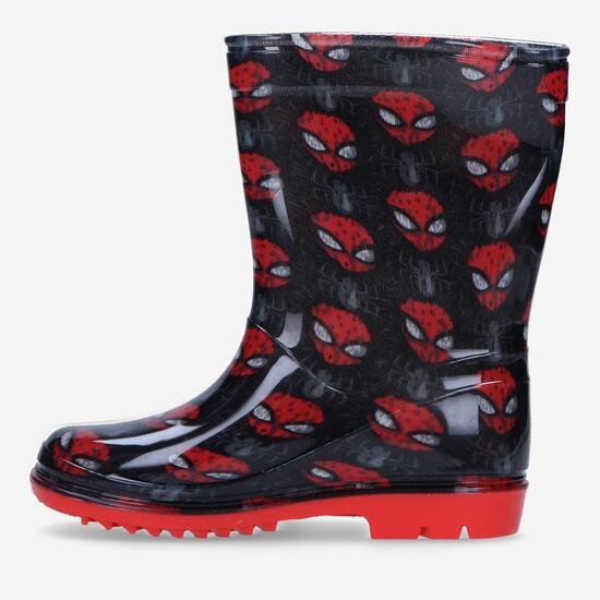 Botas Agua Spiderman