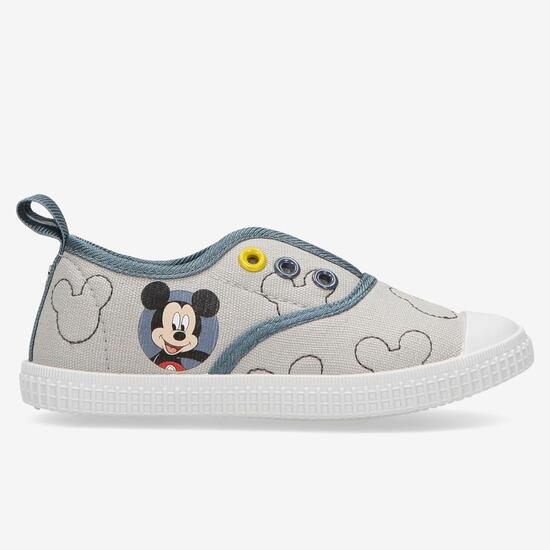Zapatillas Lona Mickey