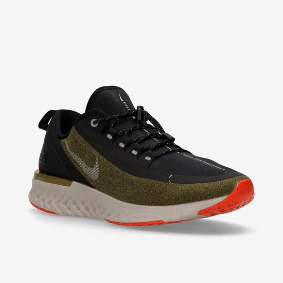 34c6fe7f727da4 Nike Odyssey React Shield -Verde- Zapatillas Running Hombre | Sprinter
