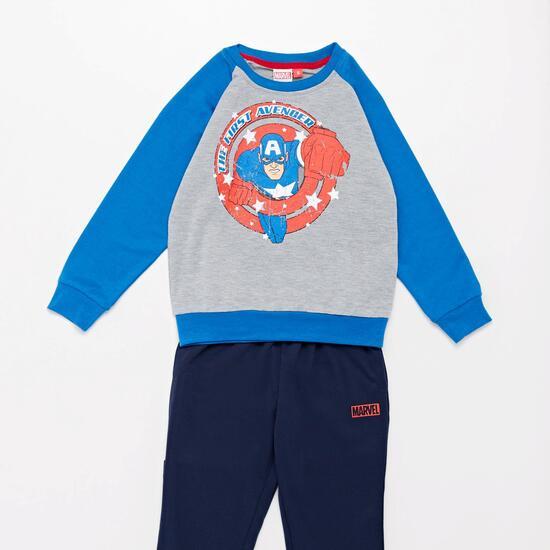 Chándal Capitán América Niño