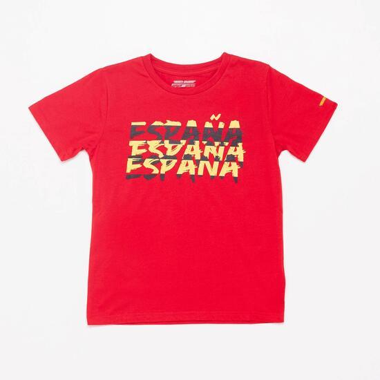 Camiseta España Team Quest Junior