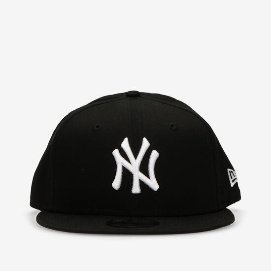 New Era NY Yankees - Negro-Blanco- Gorra Plato Hombre  9d051982c21