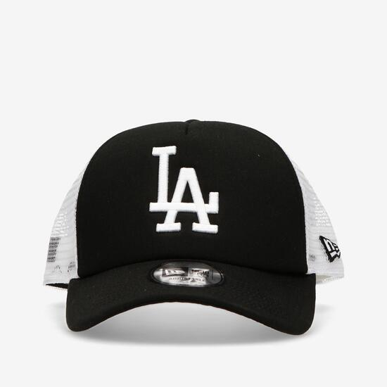 New Era LA Dodgers - Negro-Blanco - Gorra Hombre Trucker  df76512d709