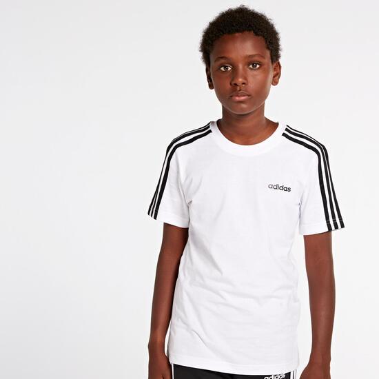 3 Stripes Jr Camiseta M/c Alg.