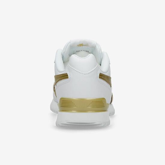 ec764f3b Reebok Royal Glide - Blanco-Oro - Zapatillas Mujer | Sprinter