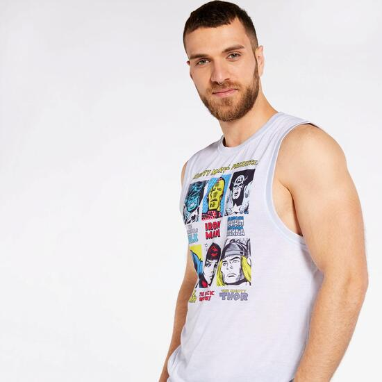 Camiseta Tirante Marvel
