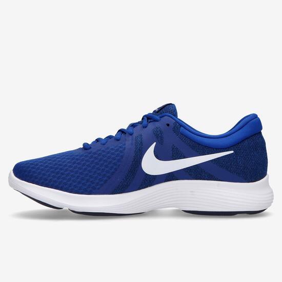 f15ef91889 Nike Revolution 4 - Azul - Zapatillas Running Hombre