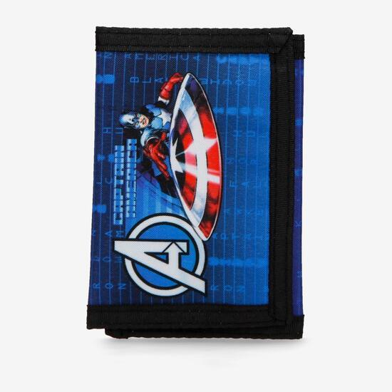 Cartera Velcro Capitán América