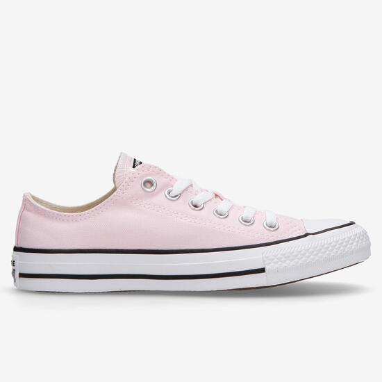 converse mujer rosa